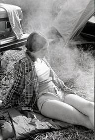 Stompin' 76 festival lady