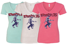 Stompin 76 Ladies v-neck