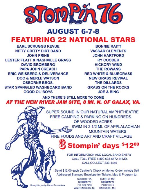 Stompin' 76 poster