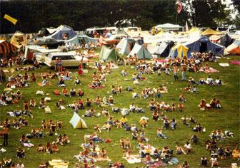 Stompin' 76 festival camping