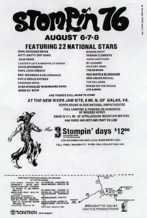Stompin Poster